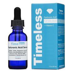 Serum Dưỡng ẩm, Sáng da, Làm đều màu da TimeLess Hyaluronic Aciad + Vitamin C 30ml
