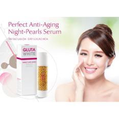 Serum ngọc trai chống lão hóa GLUTA WHITE Perfect Anti Aging Night Pearls Serum – Ban đêm 50ml
