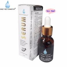 Serum trắng da – Ngừa nhăn – Lão hóa – Se khít lỗ chân lông Ngọc Trai Đen – Sữa Ong Chúa Nhật Việt Cosmetics (15ml)