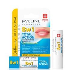 Son dưỡng môi Eveline Lip 8B1 Therapy Professional giữ ẩm toàn diện