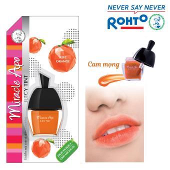 Son nước Miracle Apo Juicy Tint Ripe Orange 3.5g (Cam mọng)