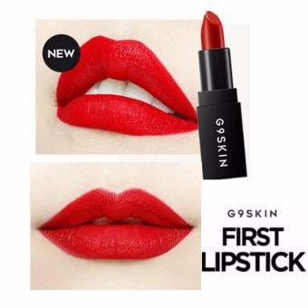 Son thỏi siêu lì G9 Skin First Lipstick # 06 Lively Red