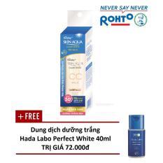 Bảng Giá Sữa chống nắng Sunplay Skin Aqua Clear White CC Milk 25g – Tặng 1 Dung dịch dưỡng Hada Labo Perfect White 40ml