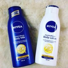 Sữa Dưỡng Thể Nivea Q10 Energy+ Hautstraffende Body Milk 400Ml