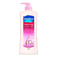 Sữa dưỡng trắng da toàn thân Vaseline 10 lợi ích 350ml