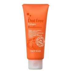 Sữa rửa mặt Collagen tươi Dot free Resilience Face Wash 100g- Nhật Bản