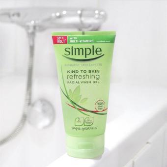 Sữa Rửa Mặt Dạng Gel Simple Kind To Skin Refreshing Facial Wash Gel 150ml