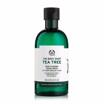 Sữa rửa mặt dạng gel THE BODY SHOP Tea Tree Skin Clearing Facial Wash 400ml