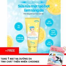 Sửa rửa mặt làm sáng da Choonee + Tặng 1 miếng mặt nạ Choonee