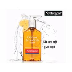 Sữa rửa mặt Neutrogena Oil-Free Acne Wash 177ml