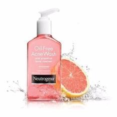 So Sánh Giá Sữa Rửa Mặt Ngăn ngừa và Trị Mụn Neutrogena Oil-Free Acne Wash Pink Grapefruit 177ml