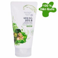 Sữa rửa mặt rau củ quả kiểm soát dầu ngăn ngừa mụn Natural Juice Cleansing Foam Hàn Quốc 120ml – Hàng Chính Hãng