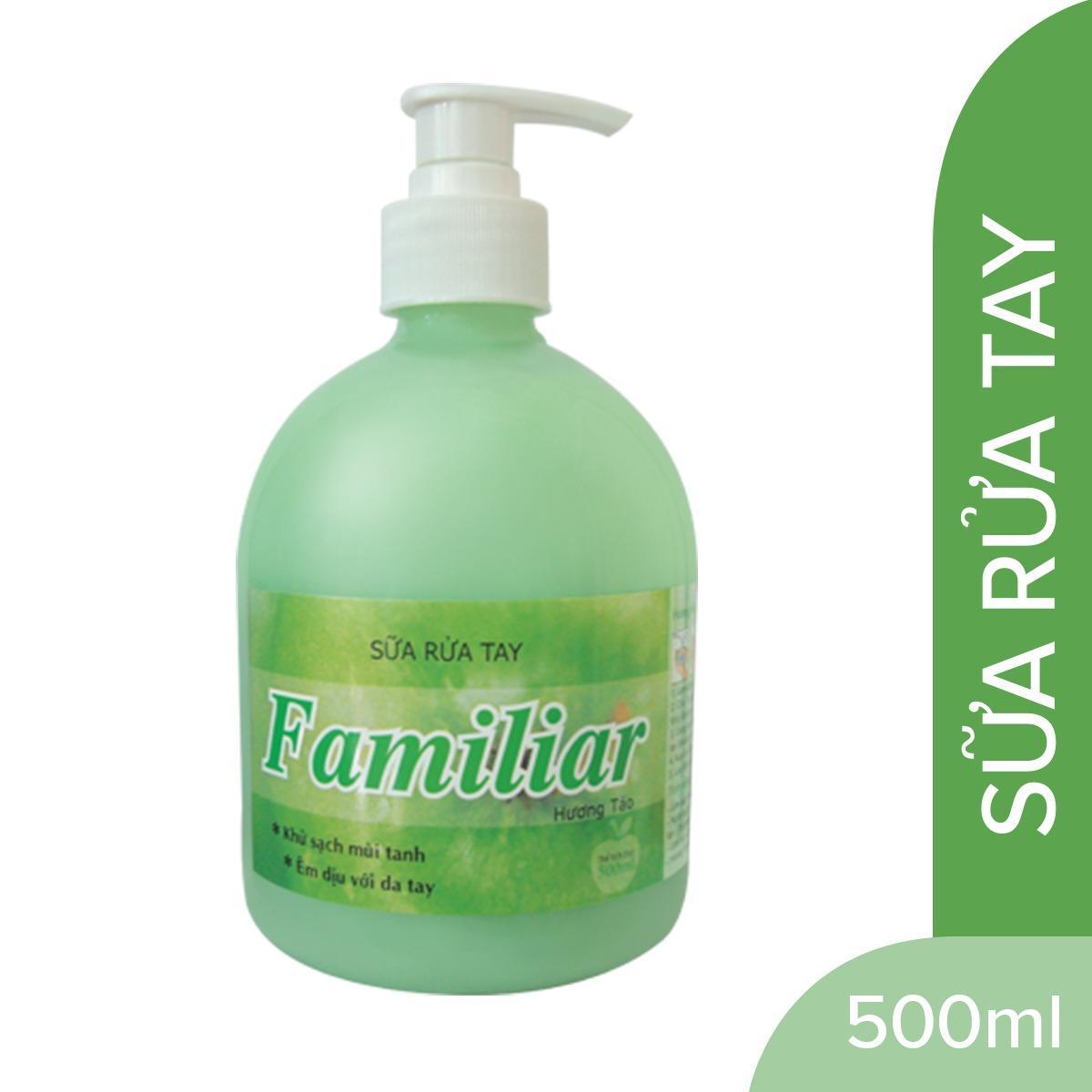 Sữa rửa tay FAMILIAR hương táo 500ml