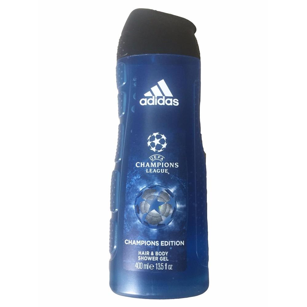 Địa Chỉ Bán Sữa tắm 3 trong 1 Adidas Champions league (rửa mặt, gội đầu, sữa tắm) Nhập Khẩu Tây Ban Nha