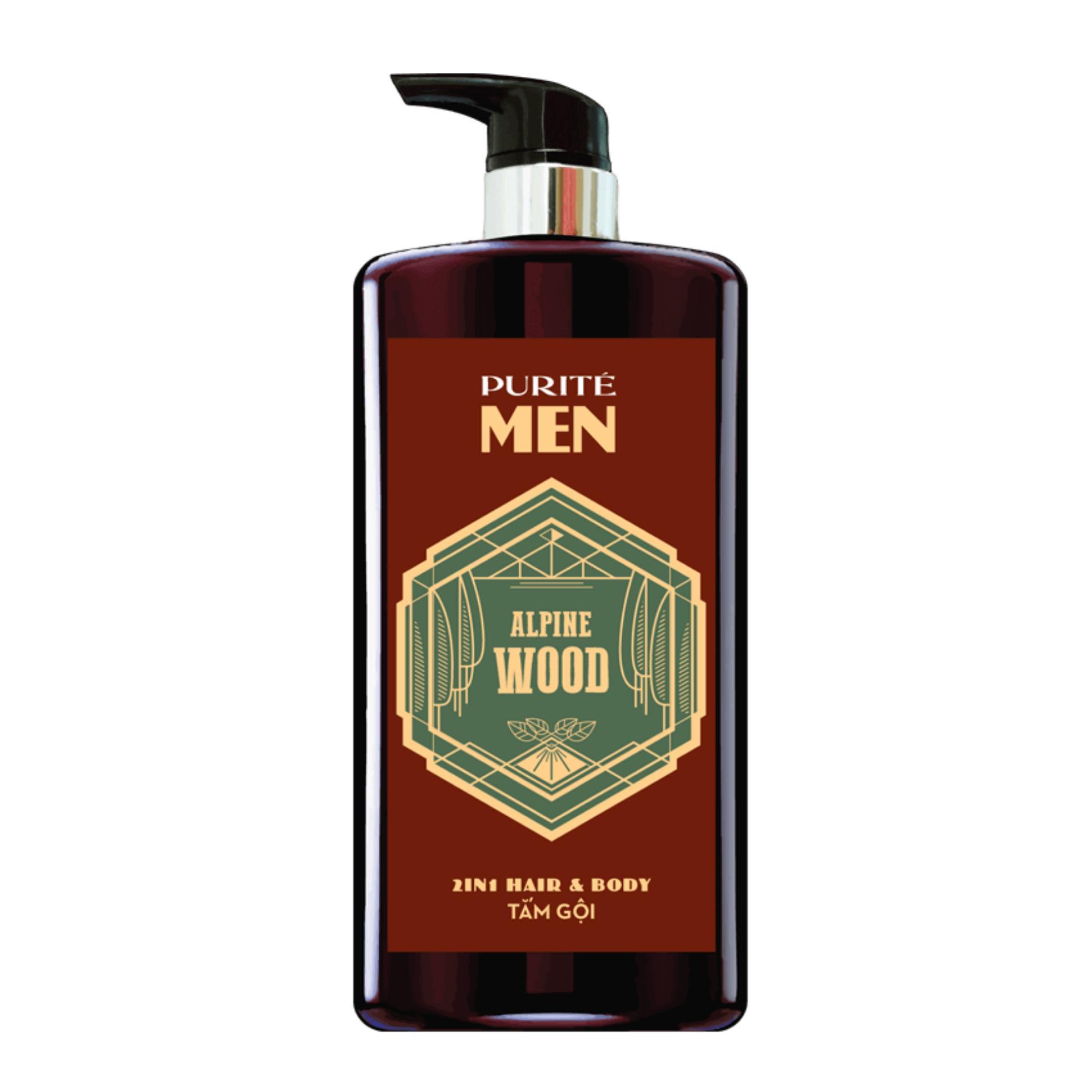 Trang bán Sữa Tắm Gội Hương Gỗ Alpine Wood 2in1 Hair & Body – Purite by Provence 650ml