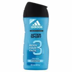 Sữa tắm gội rửa mặt 3 trong 1 cho nam 250ml Adidas 3 in 1 after sport