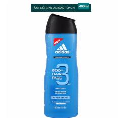 Sữa tắm gội rửa mặt 3 trong 1 cho nam 400ml Adidas 3 in 1 after sport