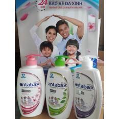 Sữa Tắm Kháng Khuẩn Antabax 550 ml