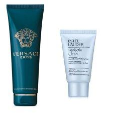 Sữa tắm nam Versace Eros 250 ml + Tặng kèm 01 sưa rửa mặt Estee lauder 30 ml