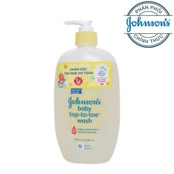 Sữa tắm toàn thân cho bé Johnson baby top to toe wash 500ml
