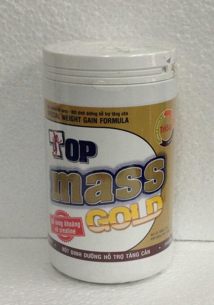 Sữa tăng cân Top Mass Gold vị chocolate 800g