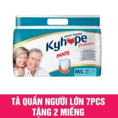 Tã quần người lớn Kyhope 7pcs tặng 2 miếng