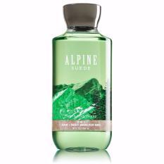 Tắm gội 2in1 cho nam Bath & Body Works for men 295ml #Alpine Suede