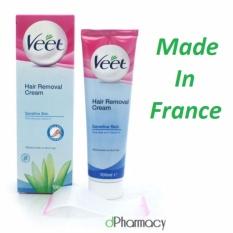 Tẩy lông Veet Pháp 100ml dành cho da nhạy cảm – xanh lá