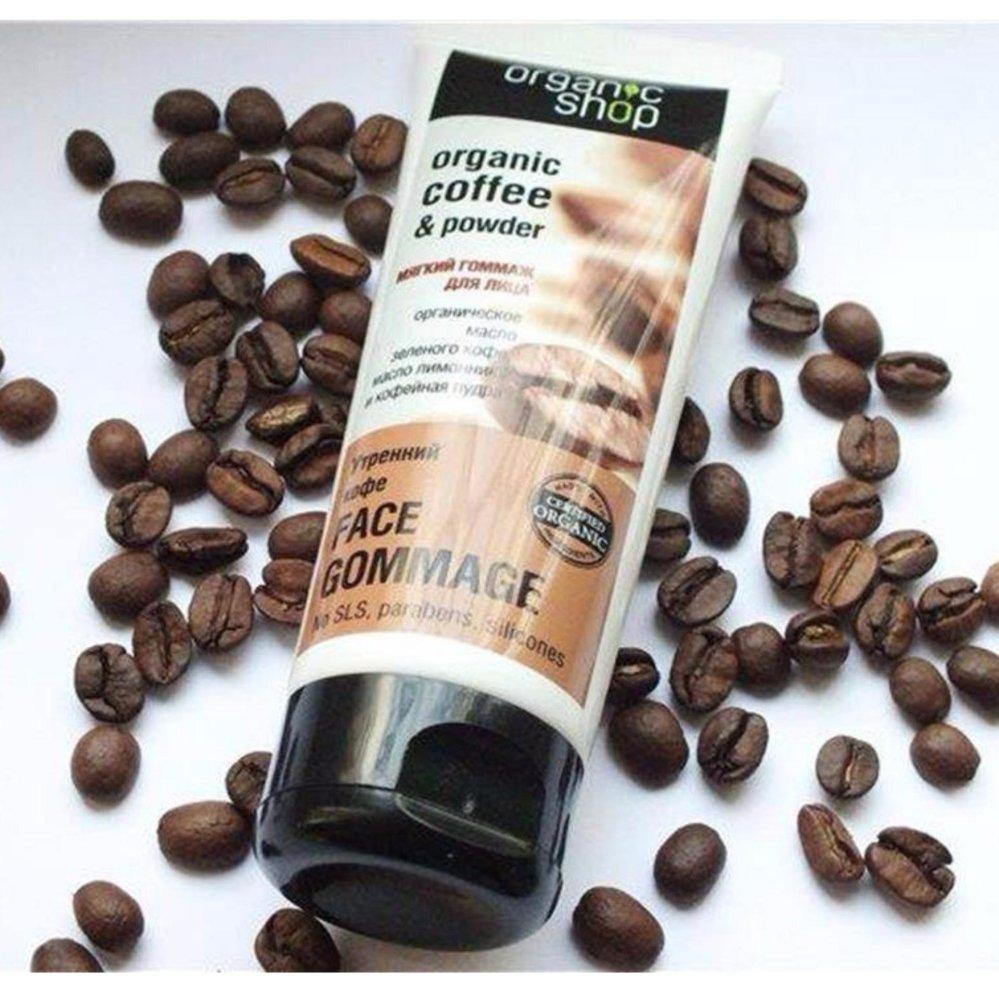 TẨY TẾ BÀO CHẾT MẶT ORGANIC SHOP ORGANIC COFFEE & POWDER