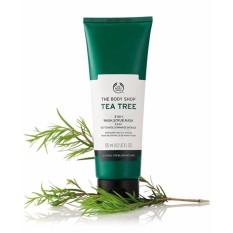 Giá KM Tẩy tế bào chết THE BODY SHOP Tea Tree 3-in-1 wash scrub mask 125ml