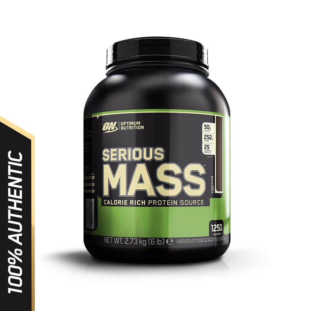 Thực phẩm bổ sung Optimum Nutrition Serious Mass Chocolate 6 lbs