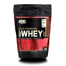 Thực phẩm bổ sung Optimum Nutrition Gold Standard 100% Whey Double Rich Chocolate 1 lbs
