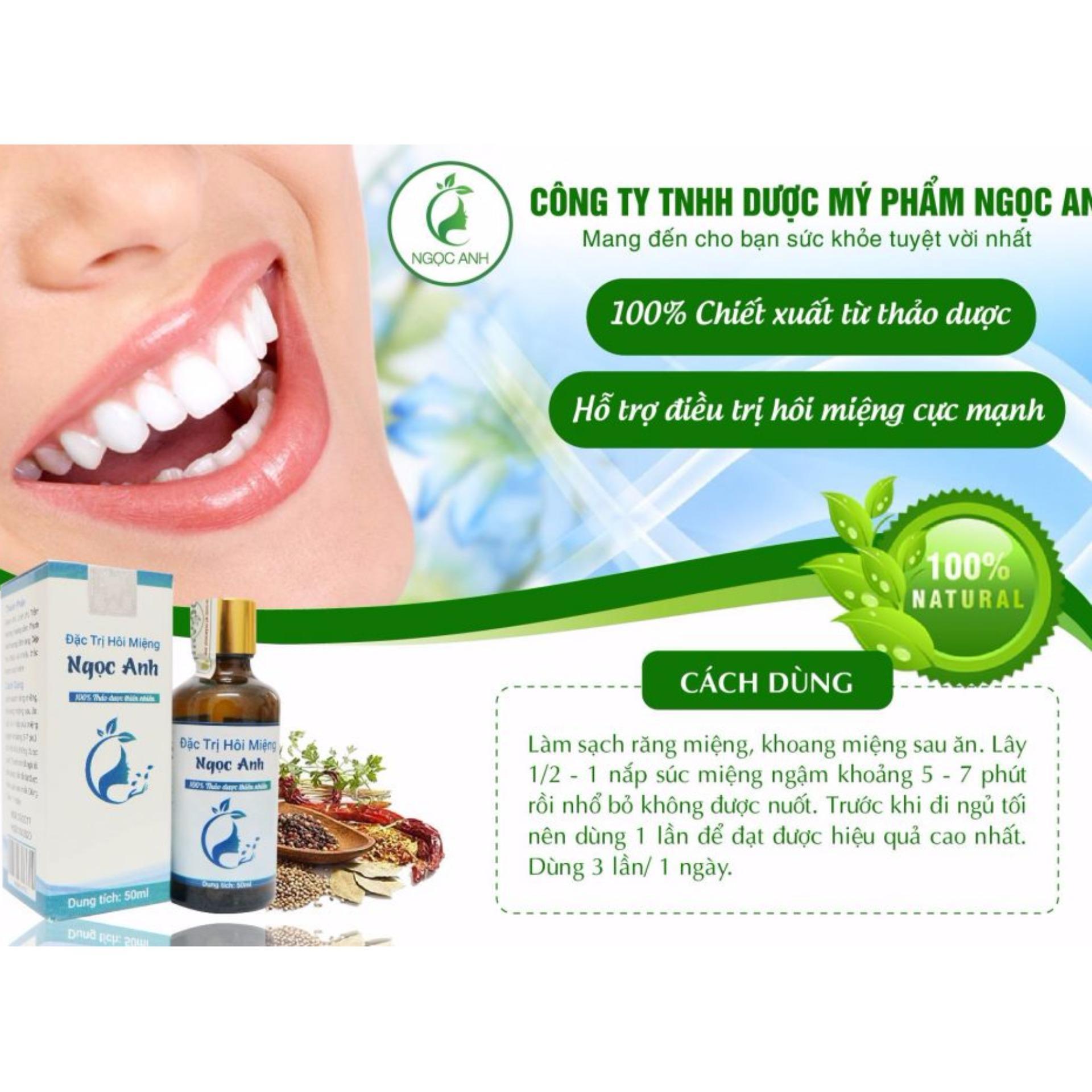 Thuốc đặc trị hôi miệng Ngọc Anh (50ml)