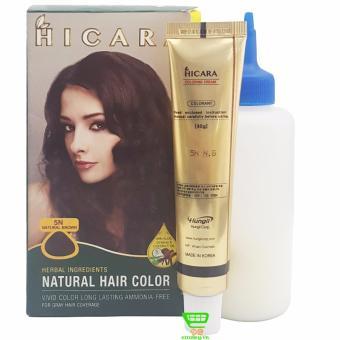 Thuốc nhuộm tóc phủ bạc dạng kem HICARA 5N 40g (Nâu Tự Nhiên) - 8182145 , HI860HBAA13GLXVNAMZ-1578393 , 224_HI860HBAA13GLXVNAMZ-1578393 , 190000 , Thuoc-nhuom-toc-phu-bac-dang-kem-HICARA-5N-40g-Nau-Tu-Nhien-224_HI860HBAA13GLXVNAMZ-1578393 , lazada.vn , Thuốc nhuộm tóc phủ bạc dạng kem HICARA 5N 40g (Nâu Tự Nhiên)
