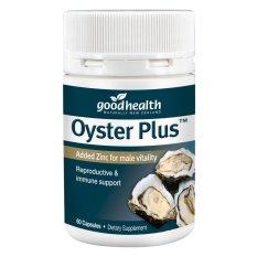 Tinh Chất Hàu Oyster Plus Goodhealth, Tăng Cường Sinh Lý Nam Giới