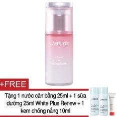 Ở đâu bán Tinh chất tẩy tế bào chết cho da mềm mịn Laneige Clear-C Peeling Serum 80Ml + Tặng 1 nước cân bằng 25ml + 1 sữa dưỡng 25ml White Plus Renew + 1 kem chống nắng 10ml