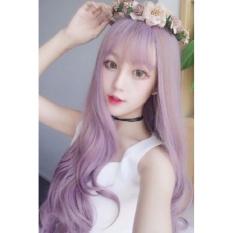 Tóc giả Hàn Quốc màu Tím HOT – TG74
