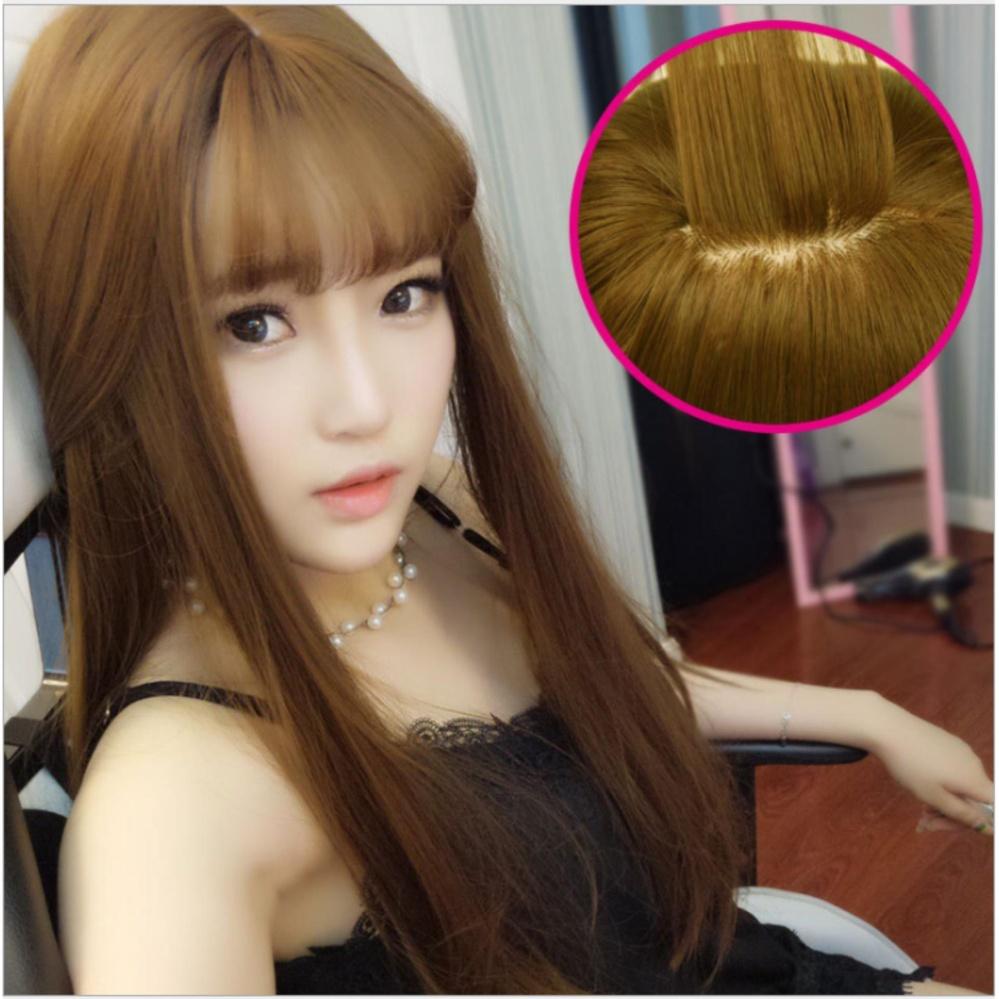 Bảng Báo Giá tóc giả nữ Hàn Quốc cao cấp TG1169 ( NÂU HẠT DẺ NHƯ HÌNH )