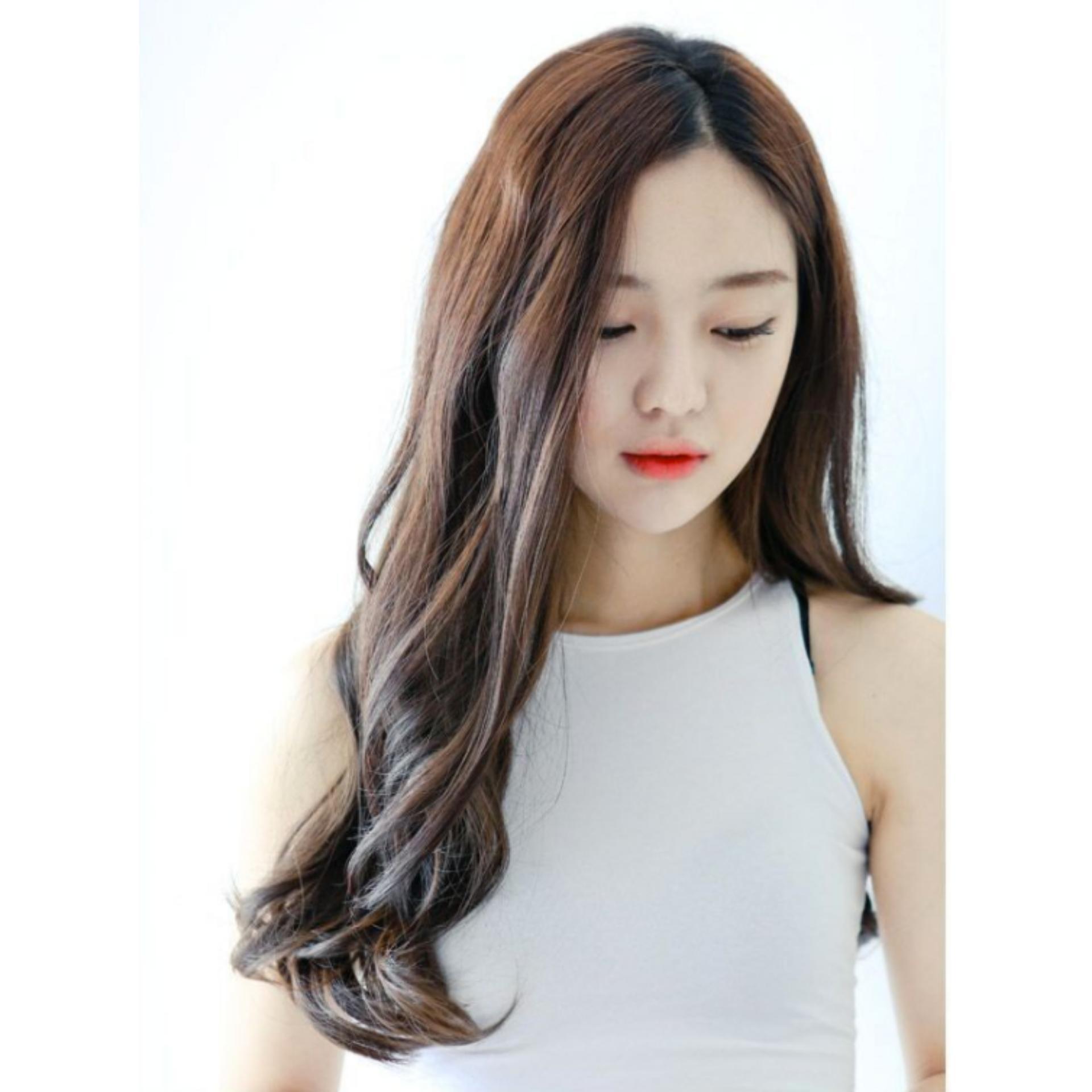 Đánh Giá Tóc giả nữ Hàn Quốc cao cấp TG1777 ( NÂU HẠT DẺ )