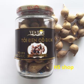 Tỏi đen cô đơn 125gr (Vua Tỏi) -100% Tỏi đen Lý Sơn, bảo vệ tim mạch, chống lão hóa, hỗ trợ tiêu hóa -NPP HS shop