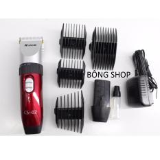 Trang bán Tông đơ cắt tóc không dây chuyên nghiệp PCS-CS 02 NEW 2018 ( Đỏ )