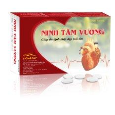 Tpcn viên nén hỗ trợ điều trị rối loạn nhịp tim nhanh NINH TÂM VƯƠNG