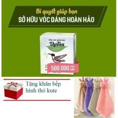 Trà Giảm Cân Tan Mỡ Vy Tea – CHÍNH HÃNG (Liệu Trình 15 Ngày) + khăn làm bếp xinh xắn