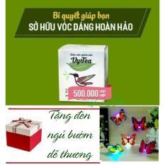 Trà Giảm Cân Tan Mỡ Vy Tea – HÀNG CHÍNH HÃNG -(Liệu Trình 15 Ngày) – + Tặng Đèn Ngủ Bướm Dán Tường