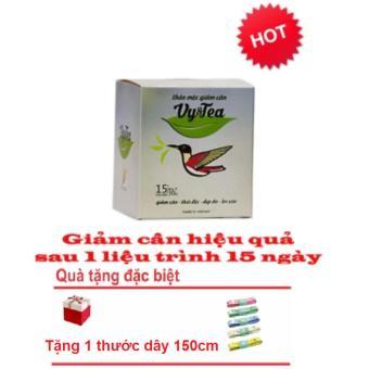 Trà thảo mộc giảm cân Vy & Tea ( Liệu Trình 15 Ngày) + Tặng thước dây 150cm - 8834909 , VY175HBAA673MIVNAMZ-11432559 , 224_VY175HBAA673MIVNAMZ-11432559 , 500000 , Tra-thao-moc-giam-can-Vy-Tea-Lieu-Trinh-15-Ngay-Tang-thuoc-day-150cm-224_VY175HBAA673MIVNAMZ-11432559 , lazada.vn , Trà thảo mộc giảm cân Vy & Tea ( Liệu Trình 15 Ng