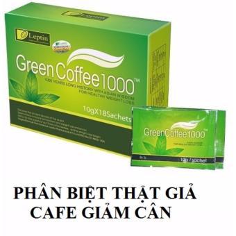 TRÀ XANH GREEN COFFEE 1000 TAN MỠ BỤNG MỠ ĐÙI - HÀNG CHUẨN HÃNG
