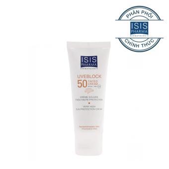 Uveblock Invisible 50 - Kem chống nắng dành cho da nhạy cảm (loại không màu)