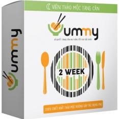 Viên thảo mộc Yummy TĂNG CÂN (Liệu trình 14 ngày) tăng 1-3 kg