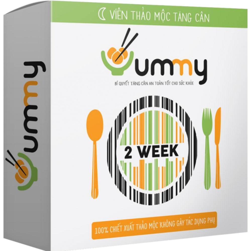 Chi tiết sản phẩm Viên thảo mộc Yummy TĂNG CÂN (Liệu trình 14 ngày) tăng 1-3 kg