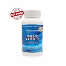 Viên uống bổ sung lợi khuẩn Puritan's Pride Probiotic Acidophilus 100 viên HSD tháng 8/2018